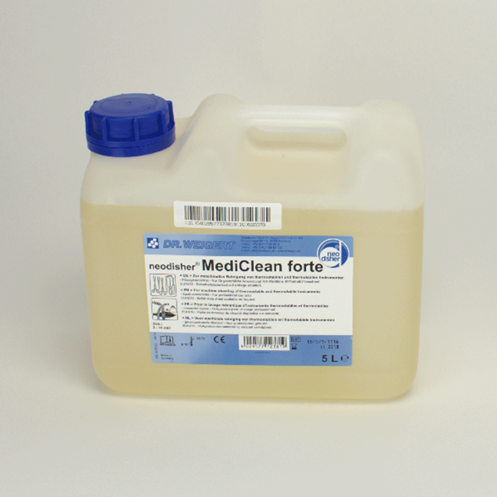 WEIGERT: 405033 - Neodisher mediclean Forte 5L Kan