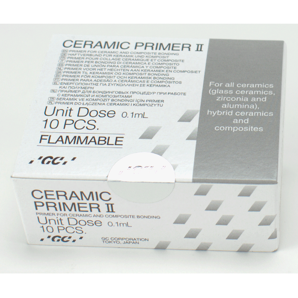 GC GERMANY: 008620 - Ceramic Primer II Unit dose 10St