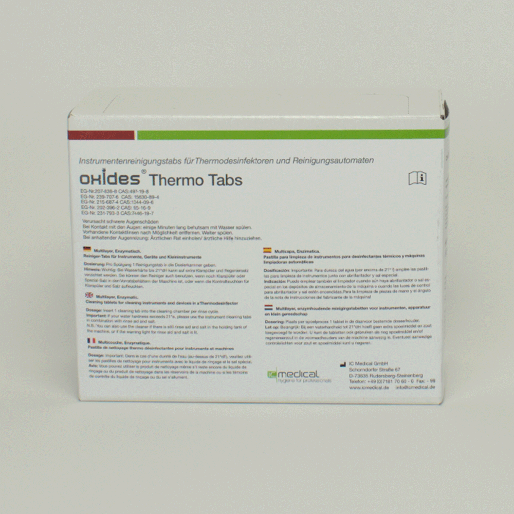 IC MEDICAL: 100 921 - Oxides Thermo Tabs 50 St